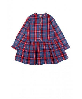 Vestido de niña a cuadros Vadroso