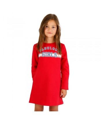 Vestido de niña rojo Vafabulous