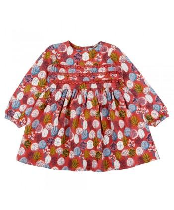 Vestido de niña estampado Varamish