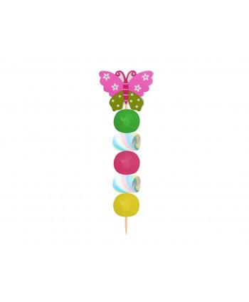 Brocheta de golosinas flor 50gr