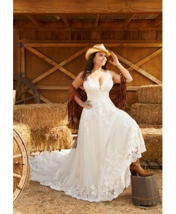 Vestido novia Rosario