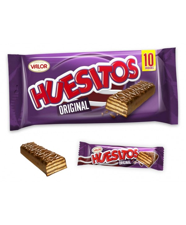 Huesitos chocolate original 20 gr 10 unidades