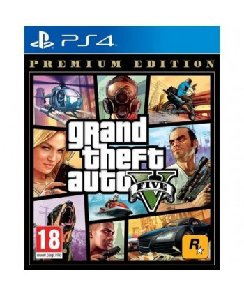 Juego para Consola Sony PS4 Grand Theft Auto V Edición Premium