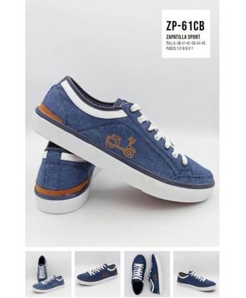 Zapatillas Azul Jeans