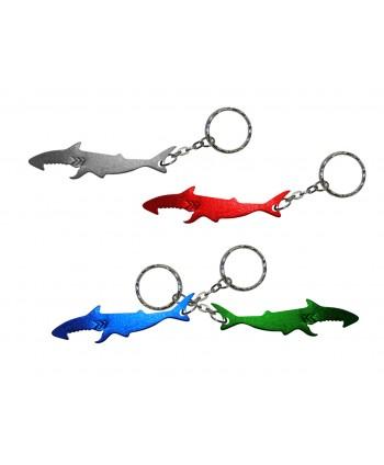 Llavero destapador tiburón