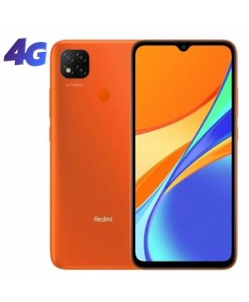 "Smartphone Xiaomi Redmi 9C NFC 2GB/ 32GB/ 6.53""/ Naranja Amanecer"