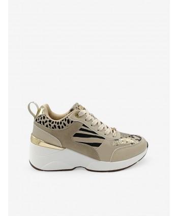 Sneakers Combinado Animal...
